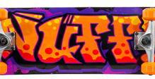 Enuff Graffiti II Mini Skateboard /7.5`Orange